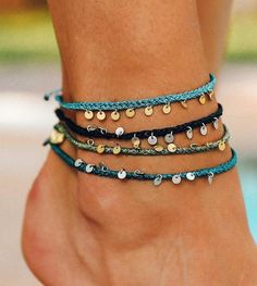 Likes, 155 Comments - Pura Vida Bracelets® ( on Instag. Likes, 155 Comments - Pura Vida Bracelets® ( on Instag. Cute Anklets, Beaded Anklets, Anklet Jewelry, Anklet Bracelet, Hippie Jewelry, Macrame Jewelry, Cute Jewelry, Jewelry Accessories, Macrame Earrings