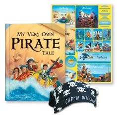 my very own pirate tale and personalized bandana i see me personalized children's books, unique gift ideas for kids