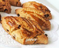 yetur'la lezzet kareleri.com: üzümlü - cevizli pastane kurabiyesi