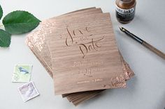 Unique Wedding Stationery By Gemma Milly | Bridal Musings