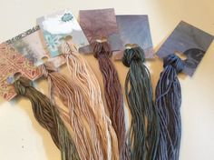 Wholesale - Overdyed Floss New Colors!- 6 large skeins - Natural Dyes  Lot 17 #QueenCityDyeCompany