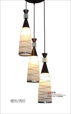 Modern Pendant Lights stylish minimalist meal restaurant bar lighting dining room lamp hanging wire glass dining #Affiliate