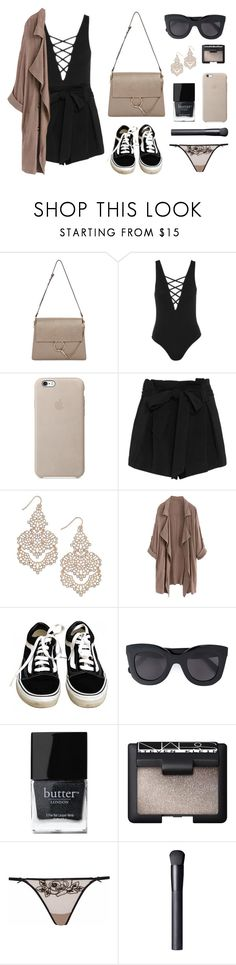 """""""Classic"""" by baludna ❤ liked on Polyvore featuring Chloé, Topshop, L'Agence, INC International Concepts, WithChic, Vans, CÉLINE, Butter London, NARS Cosmetics and Agent Provocateur"""