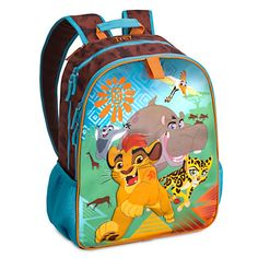 The Lion Guard Backpack with Hood - Personalizable