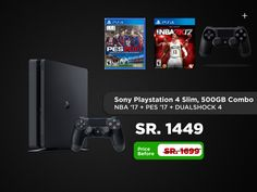 The Sony PlayStation 4 takes you on awe inspiring journeys, from award winning AAA hits to critically acclaimed indies. Buy Playstation, Normal Models, Fifa 17, New Video Games, Saudi Arabia, Video Game Console, Consoles, Nba, Shop Now