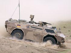 Germany's Fennek Armored Reconnaissance Vehicle [1280  960]