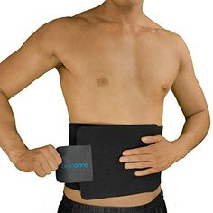 """Bellaanno Top Quality Waist Trimmer For Men  Women One Size Fits All Adjustable Up To 40"""" 100% Latex Free Neoprene Best Results Used At Gym Or Doing Daily Routine Waist Trimmer Aids Weight Loss ** You can get more details by clicking on the image."""