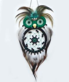 """""""Kindhearted"""" Owl Dreamcatcher"""