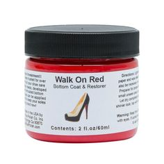 Angelus® Walk On Red Bottom Coat & Restorer Paint By Angelus Shoe Polish Shiny Shoes, Red Shoes, Me Too Shoes, Stockings Outfit, Fishnet Stockings, Bottom Paint, Red Bottom Heels, Preppy Casual, Shoe Polish