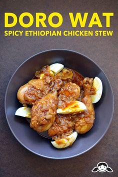 Doro Wat (Spicy Ethiopian Chicken Stew) by Michelle Tam http://nomnompaleo.com