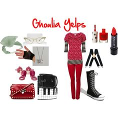 Ghoulia Yelps - Polyvore set I created.