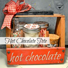 Homeroad-Hot Chocolate Tote - A Great Gift!