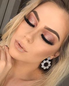 Gorgeous Makeup: Tips and Tricks With Eye Makeup and Eyeshadow – Makeup Design Ideas Perfect Makeup, Gorgeous Makeup, Love Makeup, Makeup Inspo, Makeup Looks, Makeup Ideas, Makeup Course, Awesome Makeup, Pretty Makeup