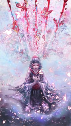 Character Art, Character Design, Drawing Anime Clothes, Lion Dog, Identity Art, Anime Artwork, Anime Art Girl, Geisha, Horror