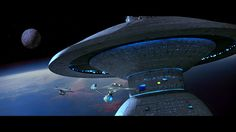USS Enterprise NCC-1701.  On her way to rescue Spock at the Genesis Planet.