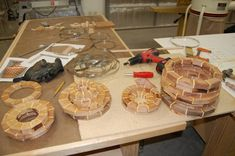 Woodturning | Segmented Woodturning – Organizing the segments and rings