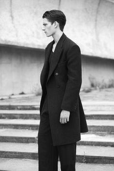 Bo Develius, Florian Van Bael, Janis Vilumovs & RJ King by Thomas Lohr in Dries Van Noten for Fashionisto Exclusive