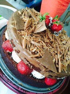 Prestigious cake by Alexandra. Thanks my dear!