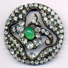 Button Million Different Sized Prong Set Pastes Prettiest Green Cabochon | eBay