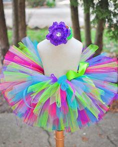 Birthday Tutu Skirt for baby infant toddler girl by TrinitysTutus, $25.00