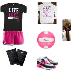 """Volleyball outfit"" by abbisonbrower on Polyvore"