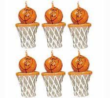 Basketball Candles   6ct