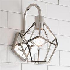 Young House Love Geometric Diamond Sconce @ shadesoflight.com $99