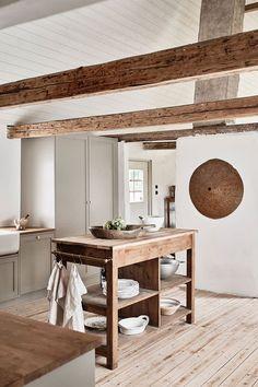 Farmhouse Kitchen Decor, Home Decor Kitchen, Home Decor Bedroom, Decor Room, Home Kitchens, Mawa Design, Küchen Design, Design Ideas, Interior Simple