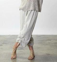 BRYN-WALKER-Light-Linen-RUCHED-PANT-