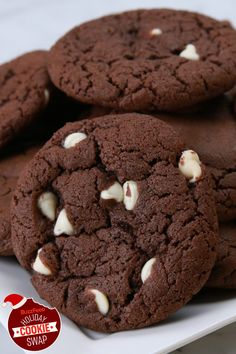 Double Fudge Irish Cream Cookies | BuzzFeed Holiday Cookie Swap