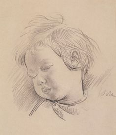 ... OF A CHILD Augustus John (1878 – 1961) P2591 © The Artist's Estate