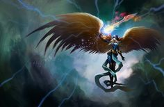 kayle - 30 Mind-Blowing Examples of Angel Art  <3 !