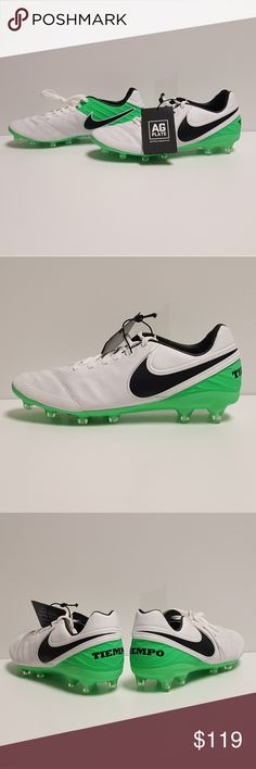 70bbba4c06f5 Nike Tiempo Legacy 2 AG Pro Soccer Cleats Mens Up for grabs are the Nike  Tiempo Legacy 2 AG Pro Soccer Cleats multiple Mens Sizes Green Grey Nike  Shoes ...