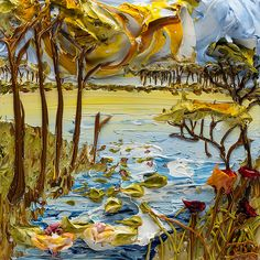 12x12 Lakescape By: Justin Gaffrey