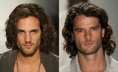 Image result for mens long wavy hairstyles 2017