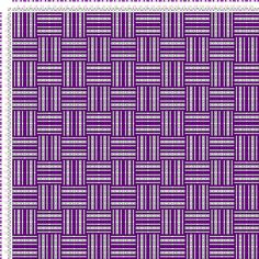draft image: Karierte Muster Pl. XII Nr. 3, Die färbige Gewebemusterung, Franz Donat, 2S, 2T