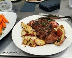 A Tasting Sample of Grilled N. Steak with Roasted Rosemary New Potatoes. The Rosemary Butter drizzled over the steak was delish! Palm Springs Events, Delicious Catering, Roasted Potatoes, Wedding Catering, Tandoori Chicken, Gourmet Recipes, Great Recipes, Delish, Steak
