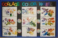 """From exhibit """"Collage Color Wheels""""  by class59"""