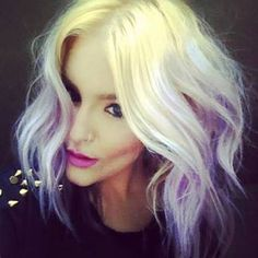 pastel purple and blonde - Google Search