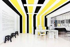 Minimalist office interior design