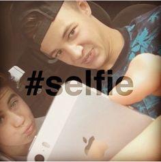 #selfie Nash Grier and Cam Dallas