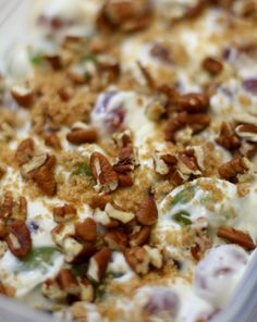 Twirl and Taste: Grape Salad - A Favorite Salad for the Holidays