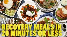 Fuel: Recovery Meals in 20 Minutes or Less