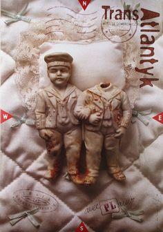 Transatlantyk by Witold Gombrowicz. Cover design by Tomasz Boguslawski.