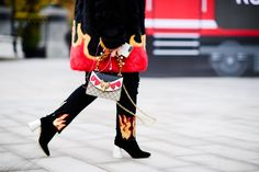 The Best Street Style From Fashion Week Russia