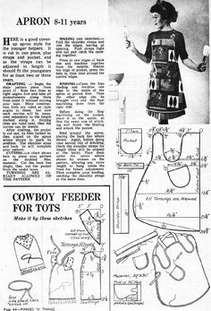 Enid Gilchrist Cowboy bib