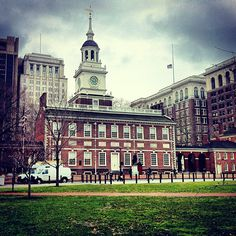 Independence Hall in Philadelphia, PA