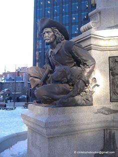Monument Maisonneuve Montreal, Buddha, Album, Statue, Art, Kunst, Sculpture, Card Book, Art Education