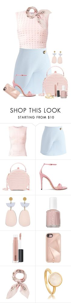 """Untitled #1890"" by ebramos ❤ liked on Polyvore featuring T By Alexander Wang, Chicwish, Nancy Gonzalez, Gucci, Isabel Marant, Essie, MAC Cosmetics, Rebecca Minkoff and Manipuri"