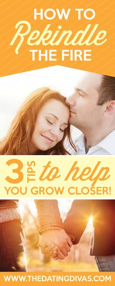 These tips are exactly what I needed to read to bring the spark back into my marriage. www.TheDatingDivas.com